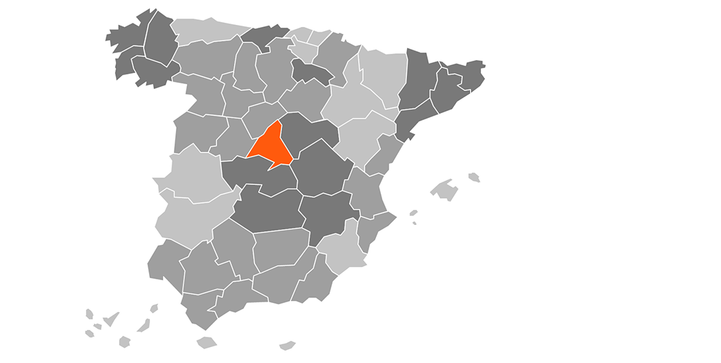SVG Spain Map